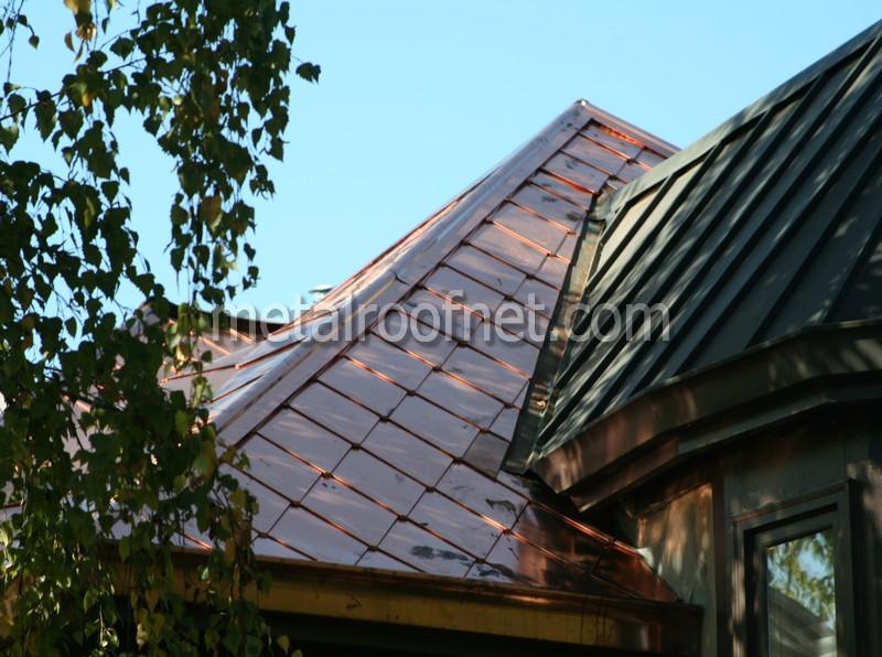 copper shingles, Bay Area CA