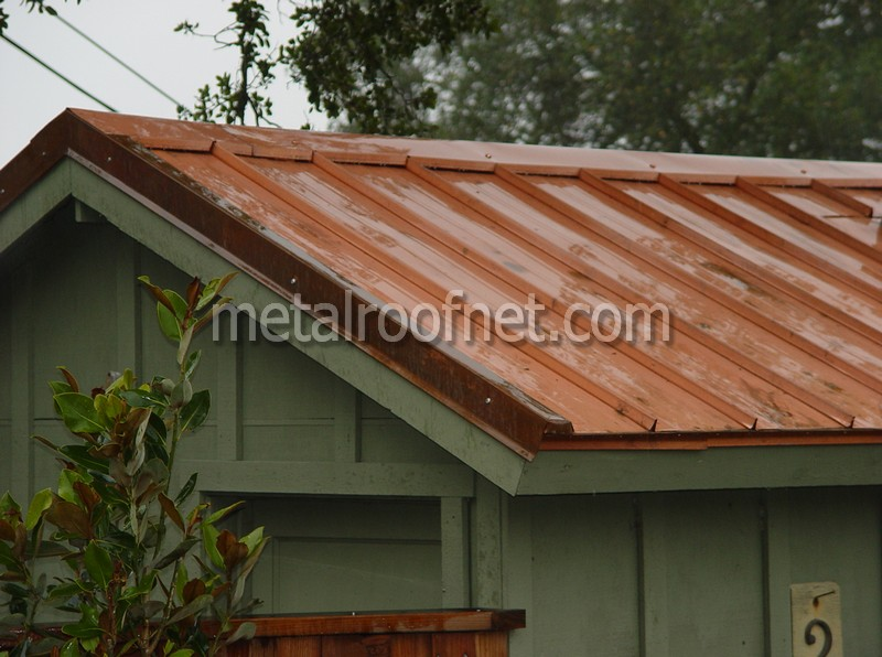 copper roof panels | Metal Roof Network