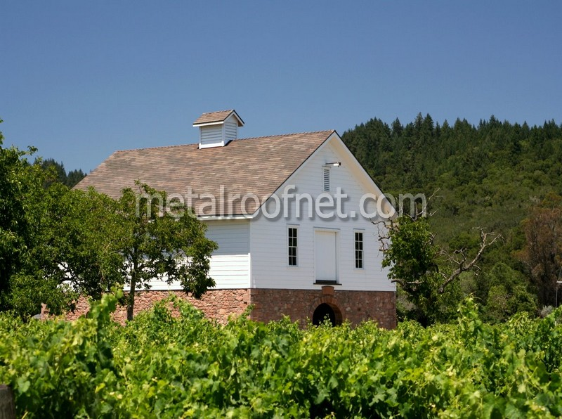 A Project In Napa Valley Copper Shingles For The Varozza Winery