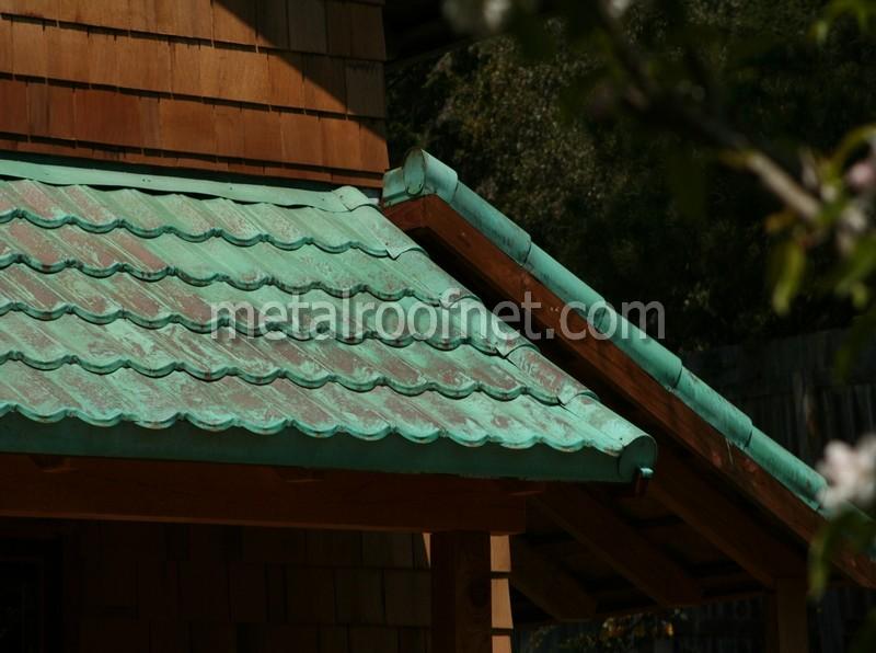 copper roof tiles   Metal Roof Network