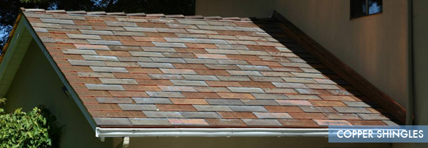 copper shingles   Metal Roof Network