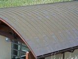 Copper Roofing Panels
