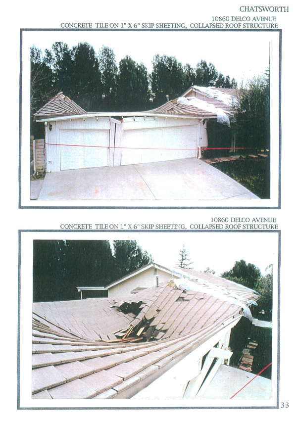 concrete tile damaged in earthquake | Metal Roof Network