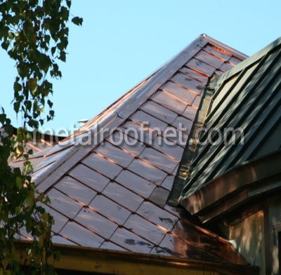 copper diamond shingles | MRN