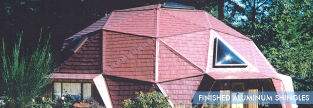 finished aluminum shingles | Metal Roof Network