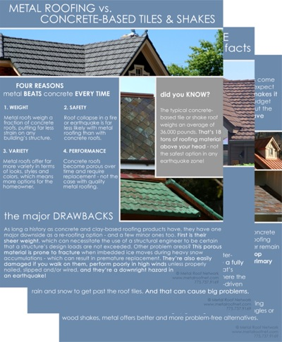 metal vs concrete | Metal Roof Network