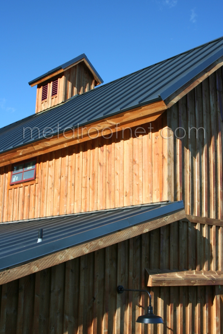 natural steel standing seam panel   Metal Roof Network