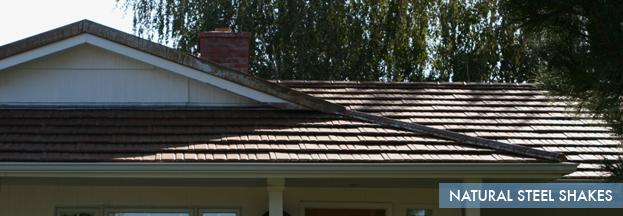 natural steel shakes   Metal Roof Network