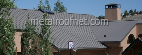 finished steel batten seam panel | Metal Roof Network