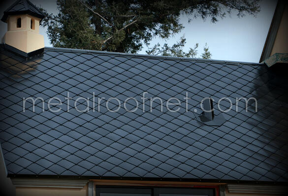 Introducing Porcelain Dipped Steel Shingle Roofing