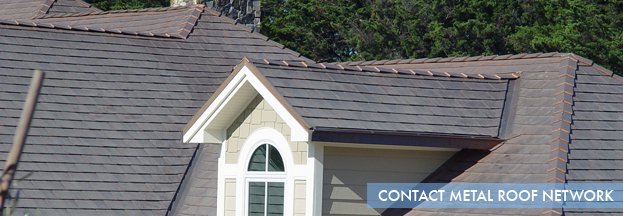 Contact us for more information about Metal Roofing
