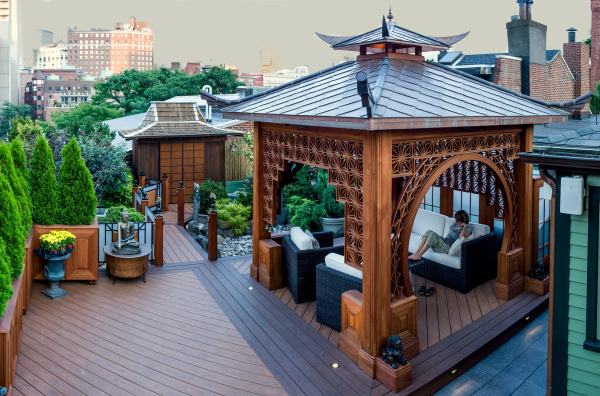 Chinese Tea House | Metal Roof Network