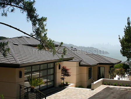 finished steel diamond shingles | Metal Roof Network