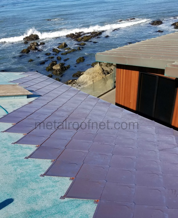 Copper Diamond Roofing On Ocean Home A Project Update