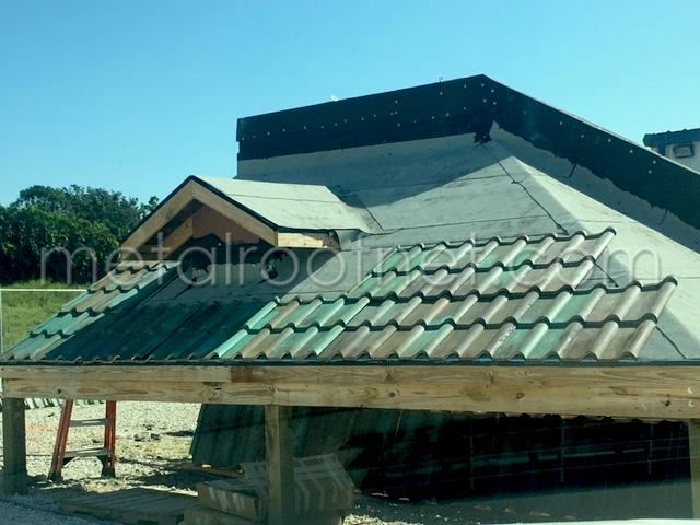 Copper Tiles for a Coastal Florida Application