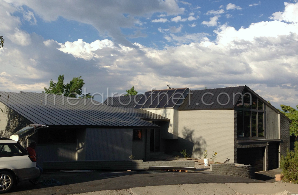 A New Metal Roof for a Modern Upgrade